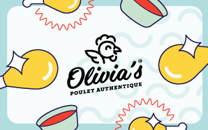 Olivia's Physical Gift Card #1
