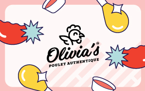Olivia's Physical Gift Card #4