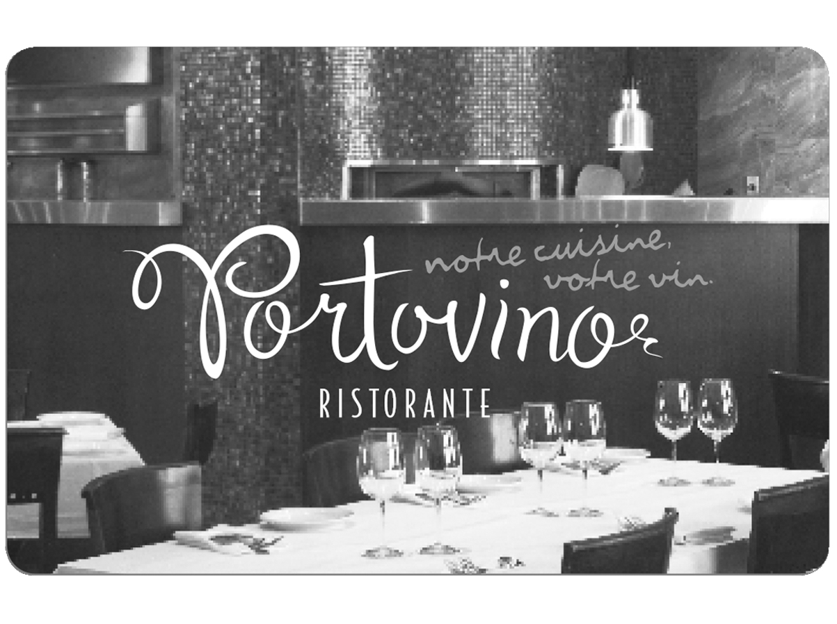 Portovino Physical Gift Card #2
