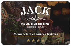 Jack Saloon Physical Gift Card #1