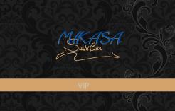 Mikasa Sushi Bar VIP Physical Gift Card #1