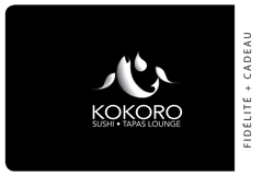 KOKORO Sushi · Tapas Lounge Physical Gift Card #1