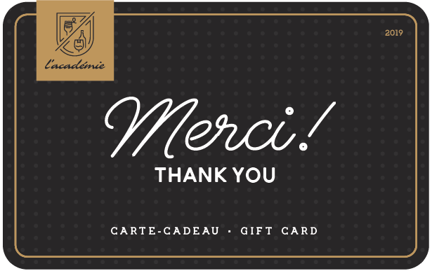 L'Académie Digital Gift Card #1