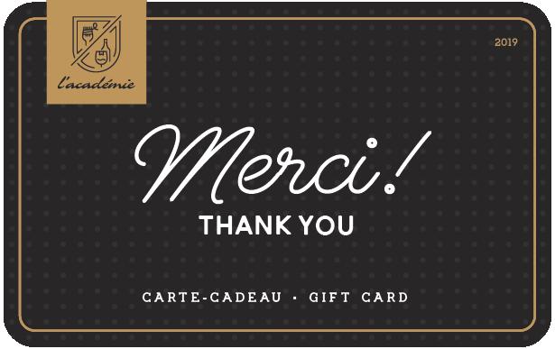 L'académie Digital Gift Card #1
